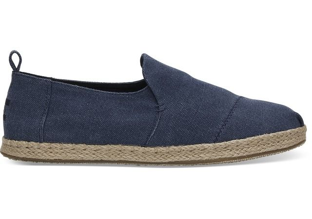 Toms Slip-on Shoes - Navy - 10011623/70 DECONSTRUCTED