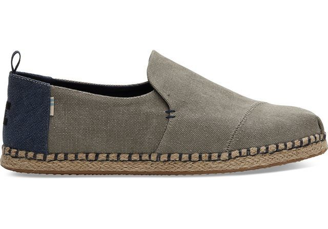 Toms Slip-on Shoes - Grey - 10013214/00 DECONSTRUCTED