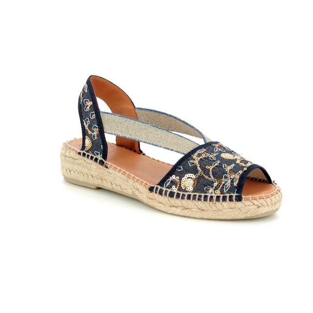 Toni Pons Espadrilles - Denim blue - 1007/70 ESTEL OR
