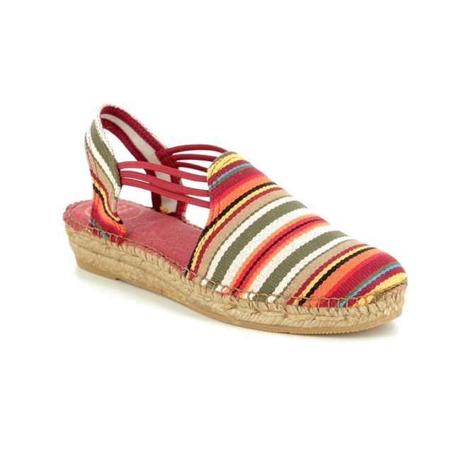 Toni Pons Espadrilles - Multi Coloured - 1002/10 NORMA