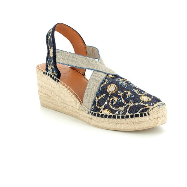 Toni Pons Espadrilles - Denim multi - 1004/70 TERRA OR
