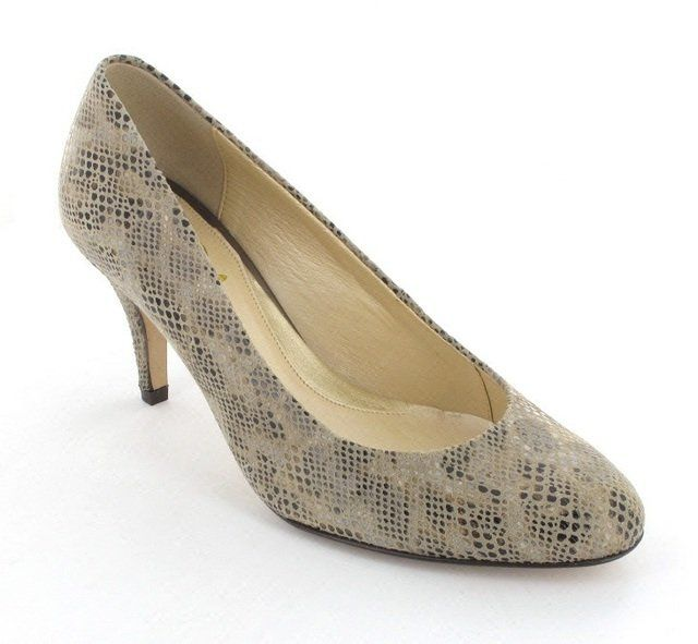 Van Dal Langham 2189-340D D Fit Metallic high-heeled shoes