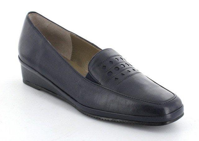Van Dal Napa 2082-450D D Fit Navy comfort shoes