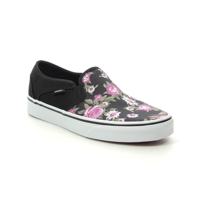 Vans Trainers - Floral print - VN0A45JMX/NW1 ASHER SLIP