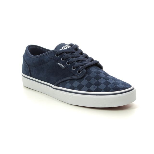 Vans Trainers - Navy - VN000TUYU/YI1 ATWOOD CHECKER