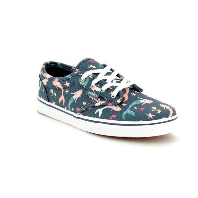Vans Trainers - Blue - VA38DUQ5J ATWOOD LOW YOUTH