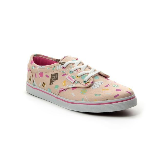 Vans Trainers - Pink - VN0A45JFV/HM ATWOOD LOW YTH