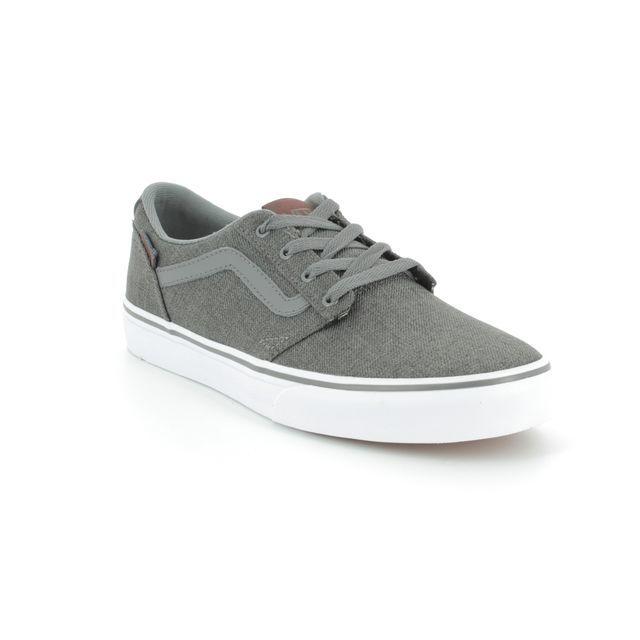 Vans Trainers - Dark Grey - VA38J2Q2N CHAPMAN STRIPE