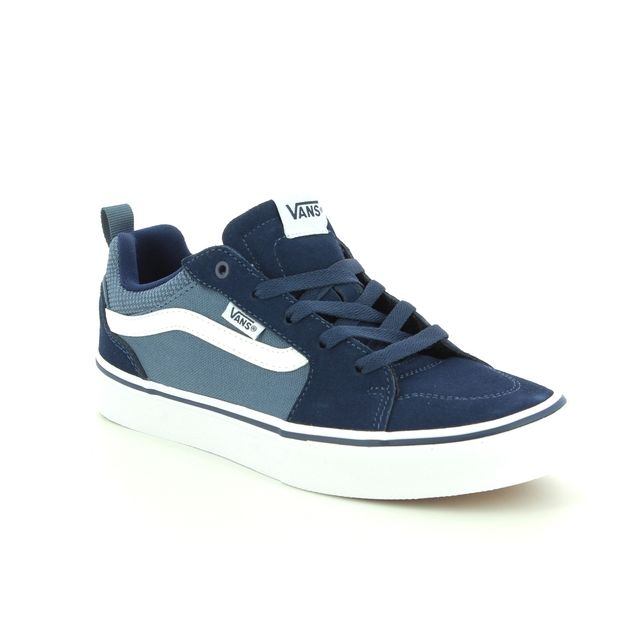Vans Trainers - Navy - VA3MVPT2L/70 FILMORE YOUTH