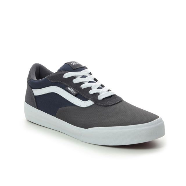 Vans Trainers - Navy Grey Combi - VN0A3WMXV/001 PALOMAR YOUTH