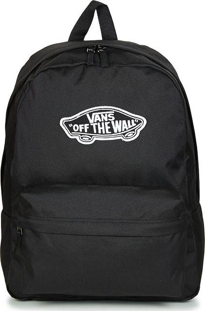 Vans Ladies Backpacks - Black - VN0A3UI6B/LK1 REALM  BACKPACK
