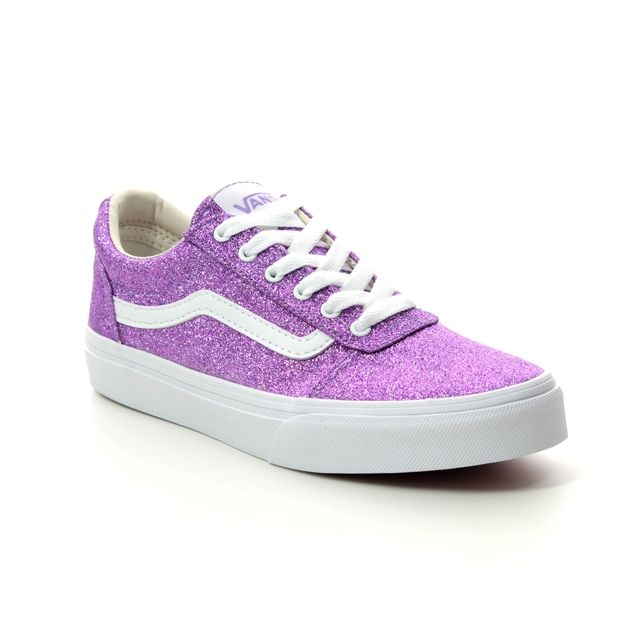Vans Trainers - Purple Glitz - VN0A3TFWV/2H1 WARD G