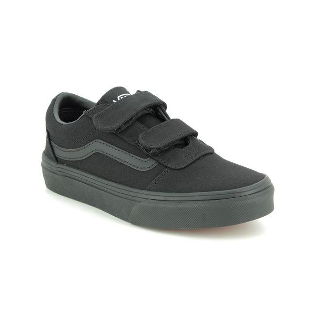 Vans Trainers - Black - VN0A4BUD1/861 WARD VEL