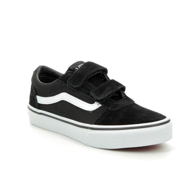 Vans Trainers - Black - VN0A4BUDI/JU WARD VEL