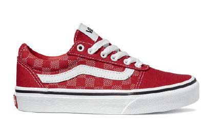 Vans Trainers - Red - VN0A38J93/RU1 WARD YTH