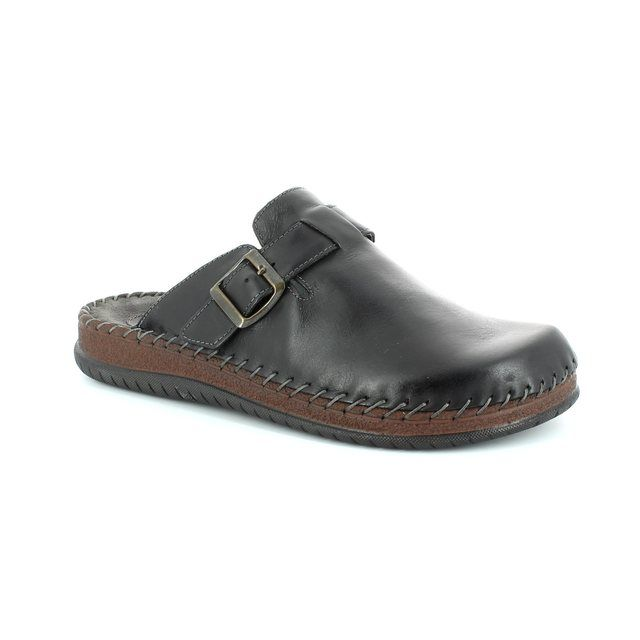 Walk in the City House Shoe - Black waxy - 9289/19103 CONFORM