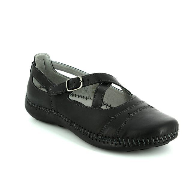 Walk in the City Comfort Slip On Shoes - Black - 7105/23430 DAISCROS