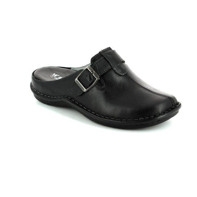 Walk in the City Slipper Mules - Black - 4988/31880 LAGOLI