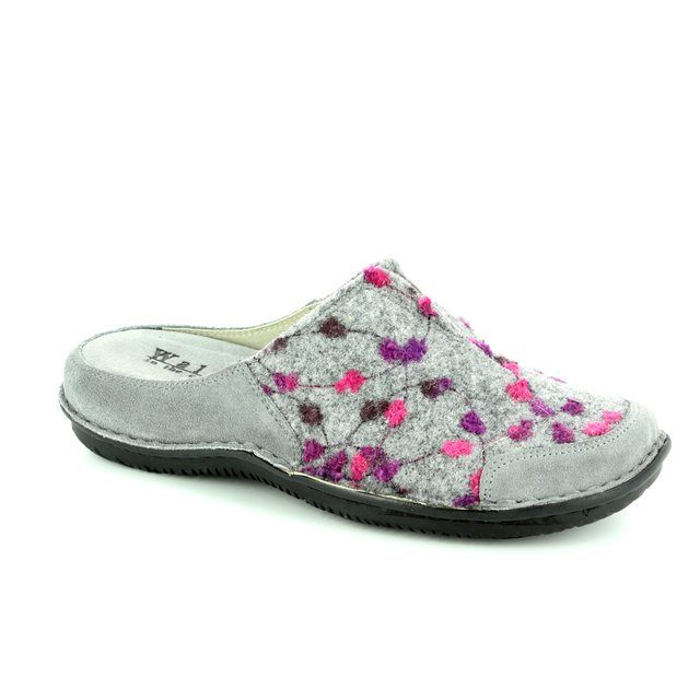 Walk in the City Slipper Mules - Grey - 4988/32010 LAGOTO