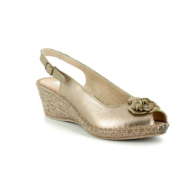 Walk in the City Espadrilles - Bronze - 8103/28868 MOSEDIA