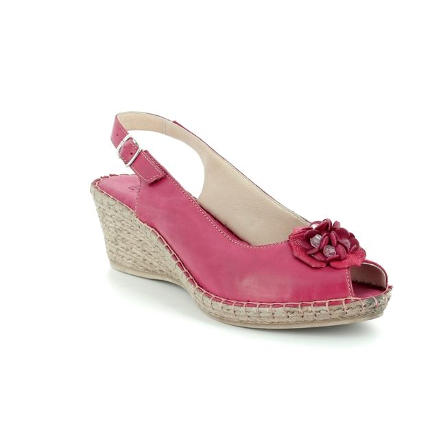 Walk in the City Espadrilles - Red - 8103/28868 MOSEDIA