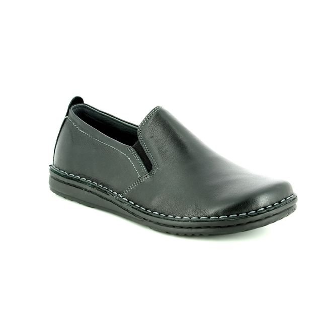 Walk in the City Slippers - Black leather - 2307/37660 NOBLEY