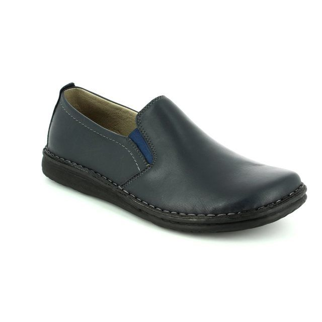 Walk in the City Slippers - Navy - 2307/37660 NOBLEY