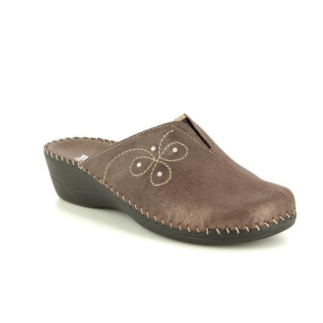 Walk in the City Slipper Mules - Bronze - 3016/23460 RELAXFLO
