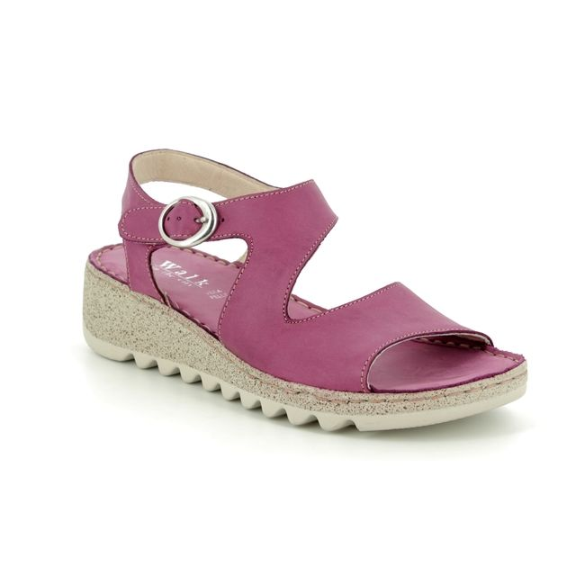 Walk in the City Comfortable Sandals - Violet - 9371/36170 TRAMBA WIDE FIT