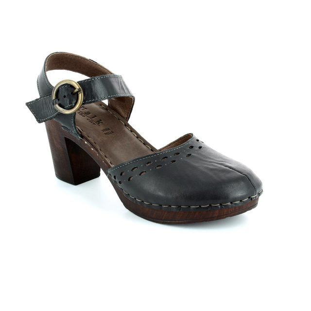 Walk in the City Heeled Shoes - Black - 4572/34101 WOODY