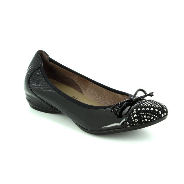 Wonders Pumps - Black patent/suede - A3082/30 COCODIA