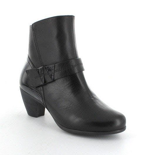 Wonders G3641-30 Black patent ankle boots