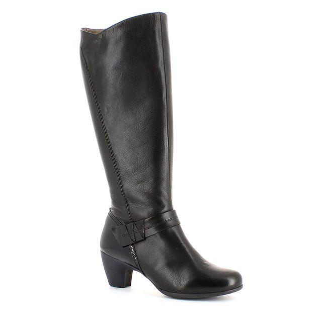 Wonders G3650-30 Black knee-high boots