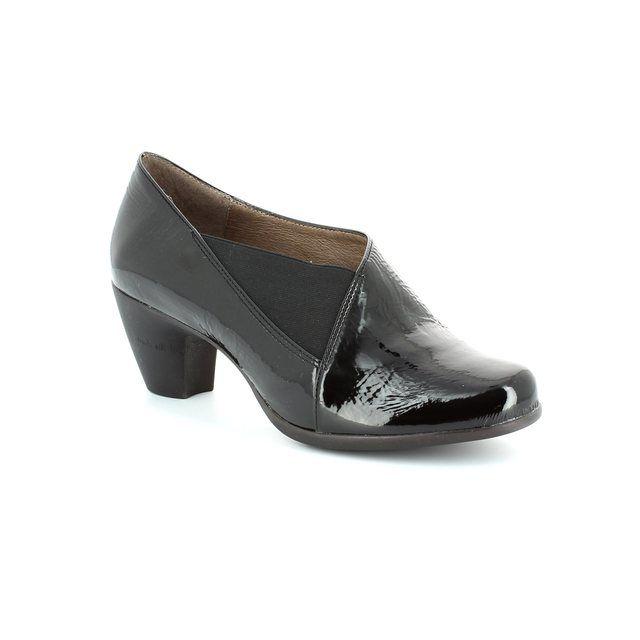 Wonders Shoe-boots - Black patent - G3683/40 WINDELA