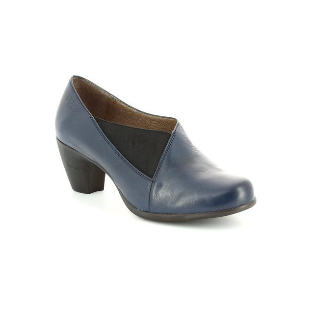 Wonders G3683-70 Navy shoe-boots