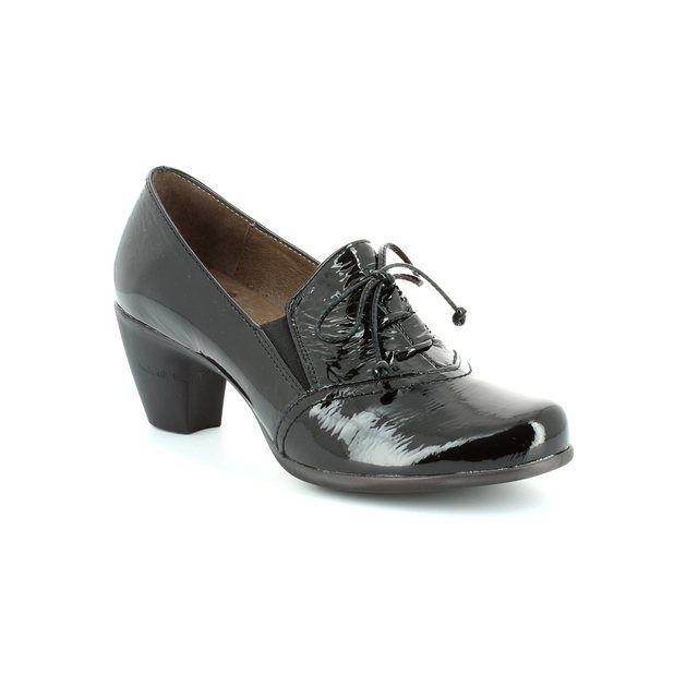 Wonders G3690-40 Black patent shoe-boots