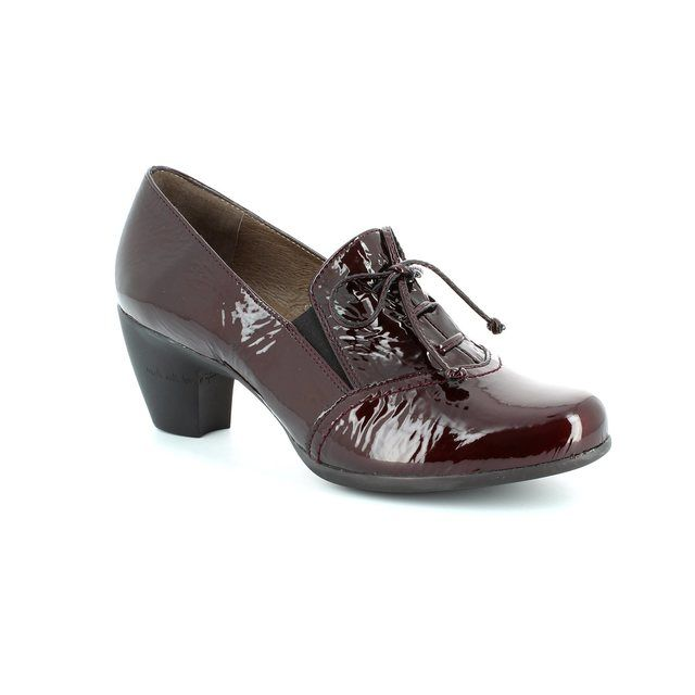 Wonders G3690-80 Wine patent shoe-boots