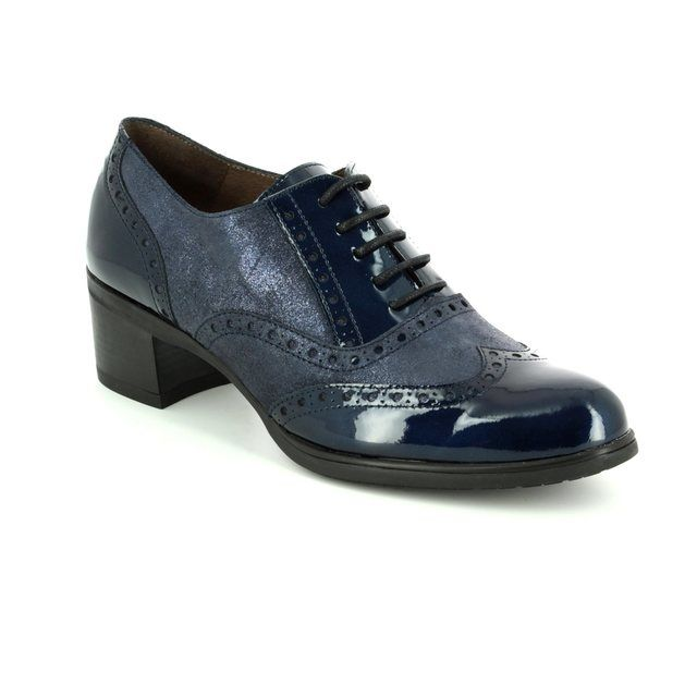 Wonders Shoe-boots - Navy patent - G4010/27 ANDREABRO