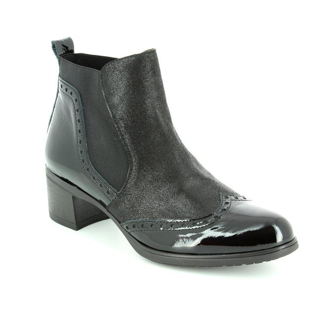 Wonders Ankle Boots - Black - G4082/30 ANDREA