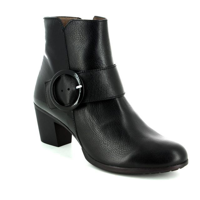 Wonders Ankle Boots - Black patent - G4705/30 HEXANK