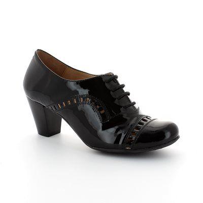 Wonders Shoe-boots - Black patent - I4601/40 AVELLA