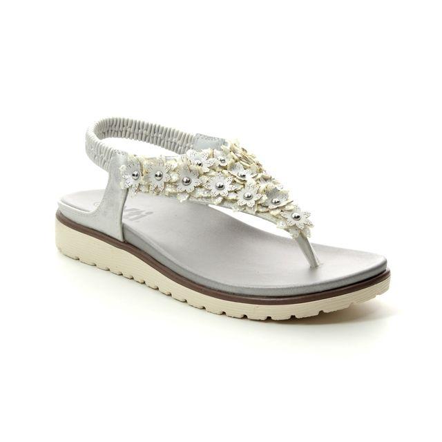 XTI Flat Sandals - Off-white - 04887603 DELIATI