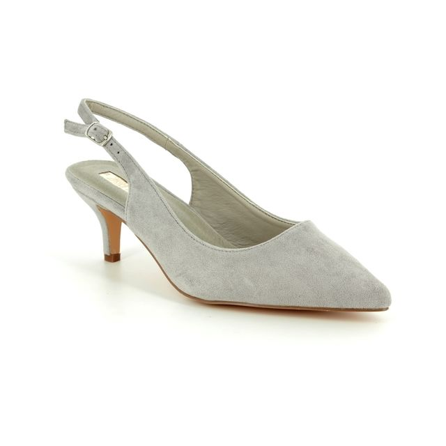XTI Slingback Shoes - Light Grey - 03501802 HUMESP