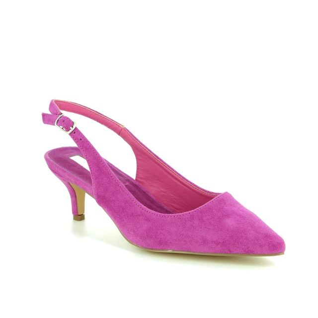 XTI Slingback Shoes - Fuchsia - 03501807 HUMESP