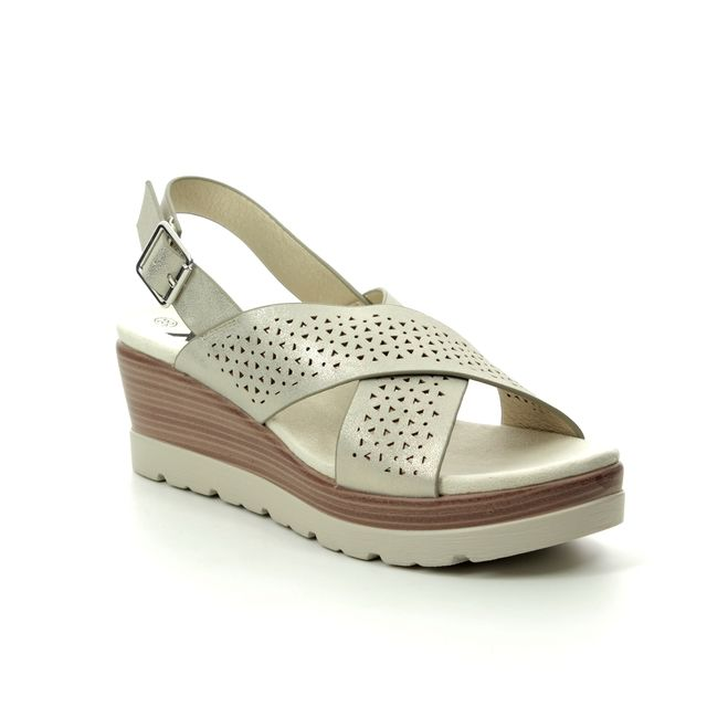 XTI Wedge Sandals - Gold - 04886202 MARITSA