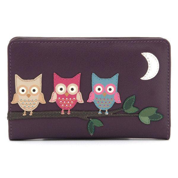 Yoshi Lichfield Ow 17  Ow 1089-90 Purple multi purse