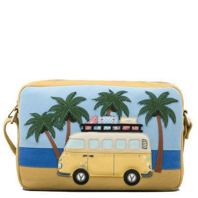 Yoshi Lichfield Yb154  Camper 0154-50 Blue multi handbag