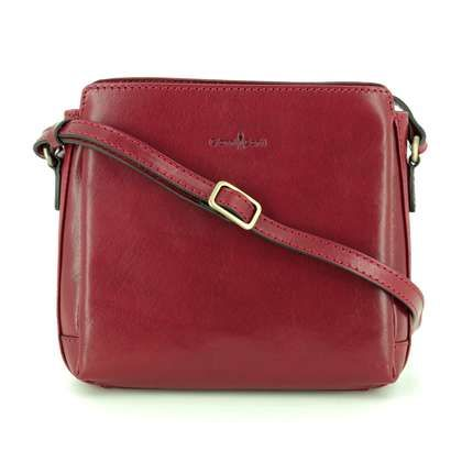 Gianni Conti Handbags - Red leather - 9403124/50 SHOULDER ANTIQUE
