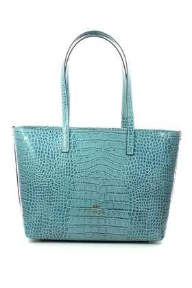 Cuoieria Fiorentina Handbags - Pale blue - 0516572 CROCO SHOULDER