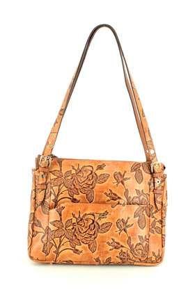 Begg Exclusive Handbags - Tan Leather  - B5027/11 CORSINI HOBO